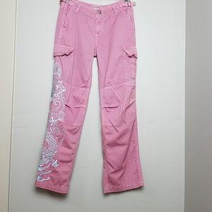 Da-Nang Embroidered Cargo Pant Size Small